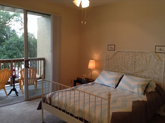 Luxuary view lake room & bath - Orlando - Appartement
