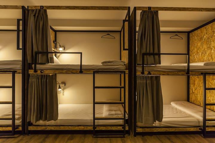 花蓮火車站前小旅行迷你公寓16人混合房單人床位