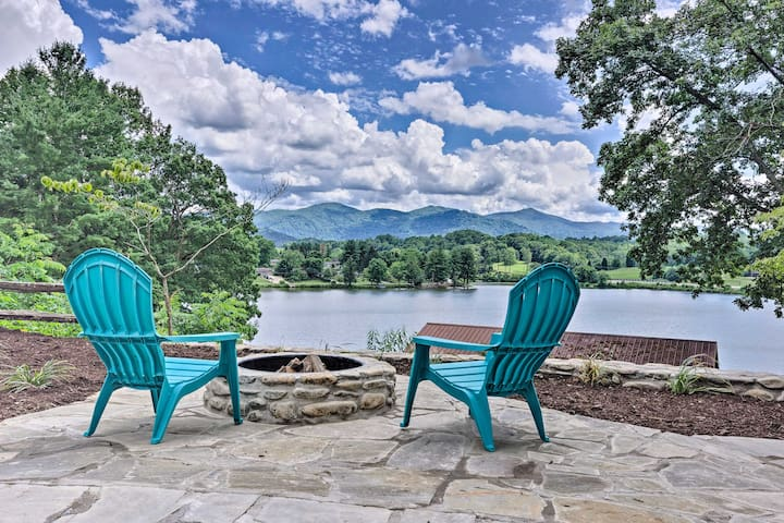 NEW! Studio w/Patio Access + View on LK Junaluska!