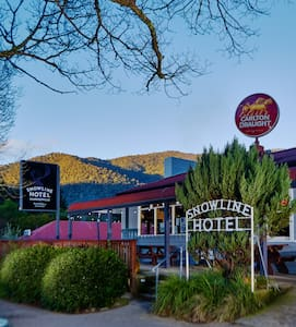Harrietville Snowline Hotel - Queen Ensuite Room - Harrietville - 아파트