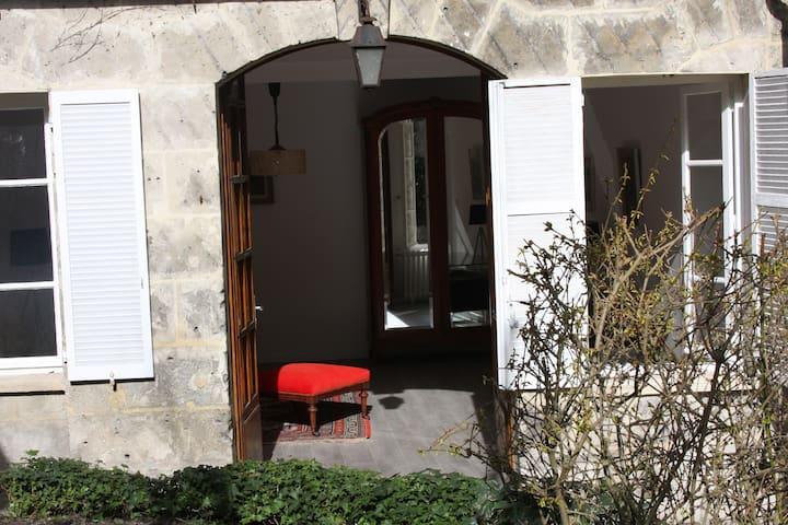 Hôtel particulier au pied de la cathédrale - Soissons - Rumah