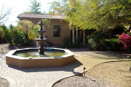 Casita  suite, private entrance off lg. courtyard