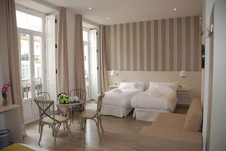 Habitación triple en Hotel San Lorenzo Boutique