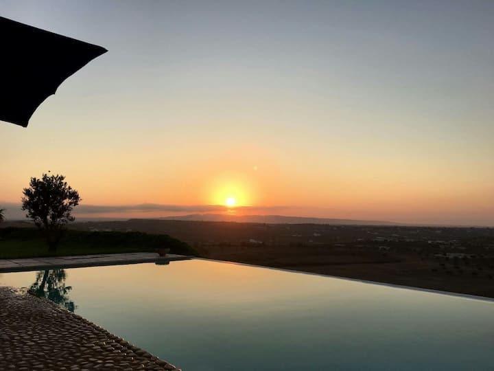 Villa Hammamet, Dar El Monchar. Panorama unique