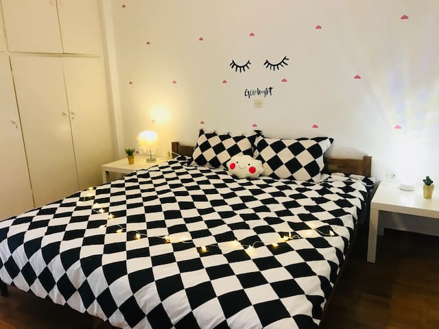 Lovely Double Room in Kallithea