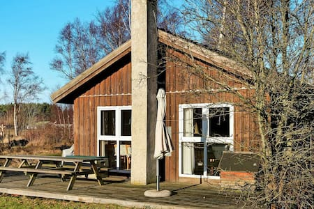 Charming Holiday Home in Laeso Denmark with Terrace