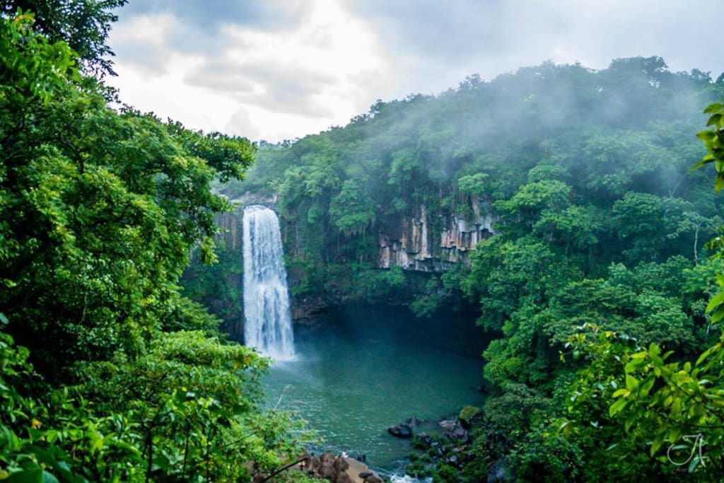 Soteapan waterfall at 2 hours from Acayucan