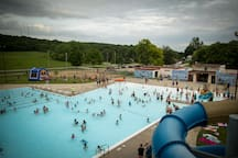 Looking for a way to cool off? Day passes are available for our community pool located within a mile of the apartment. Open May-August.