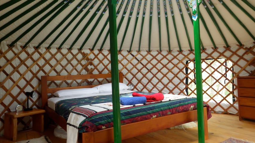 Yurt - private in native bush by a stream