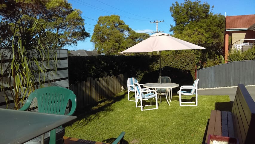 Opposite angle of your BBQ entertainment area