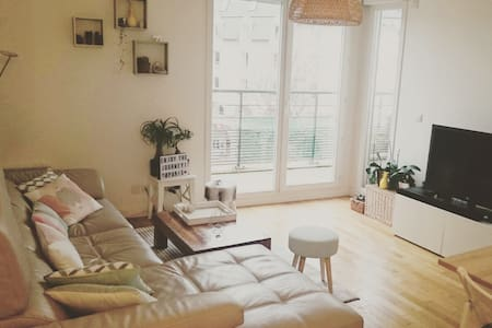 Cute Apartment with Balcony - Porte de Versaille - Issy-les-Moulineaux