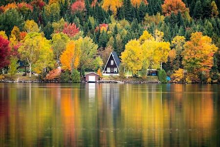 Chalet du Boathouse = beaux souvenirs au lac