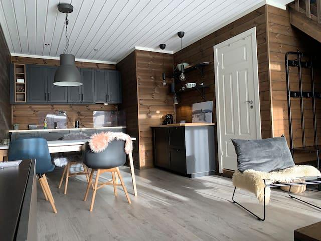 moderne leilighet på Fossheim Lodge, Hemsedal