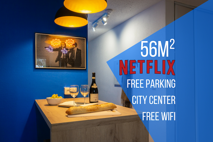 ★ ToulouseCityStay Colomiers ★ Parking ★ Netflix ★ Wifi ★ Airbus ★