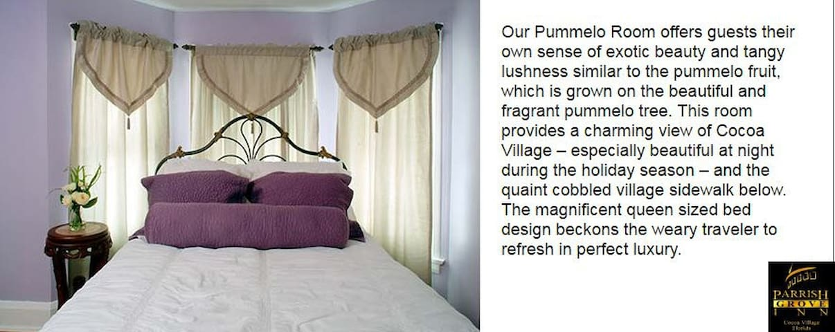 Parrish Grove Inn Pumello Room (Luxury En Suite)