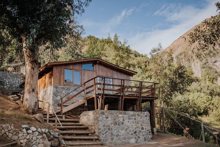 Cabaña con Vista a las Montañas