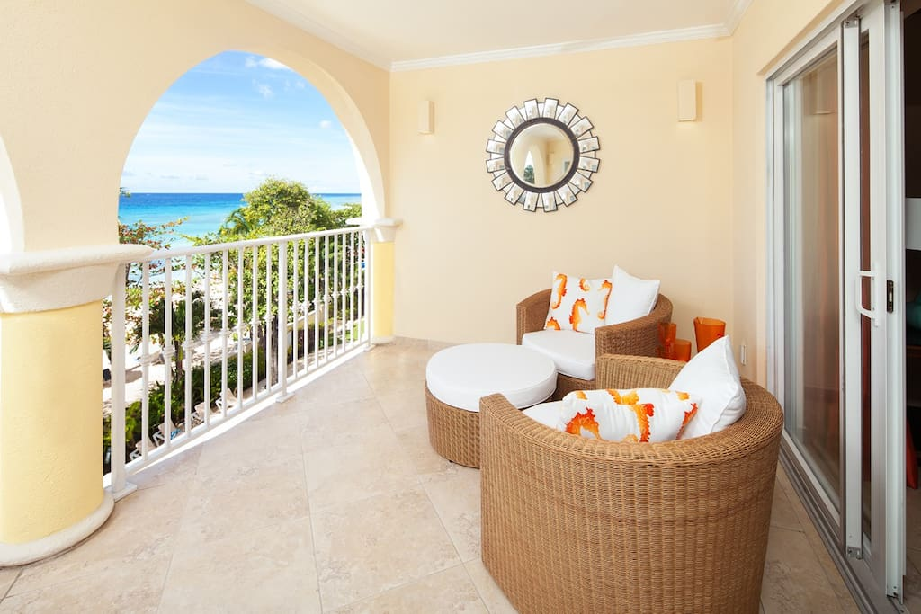 Sapphire Beach 309 - Admire the views from your private patio