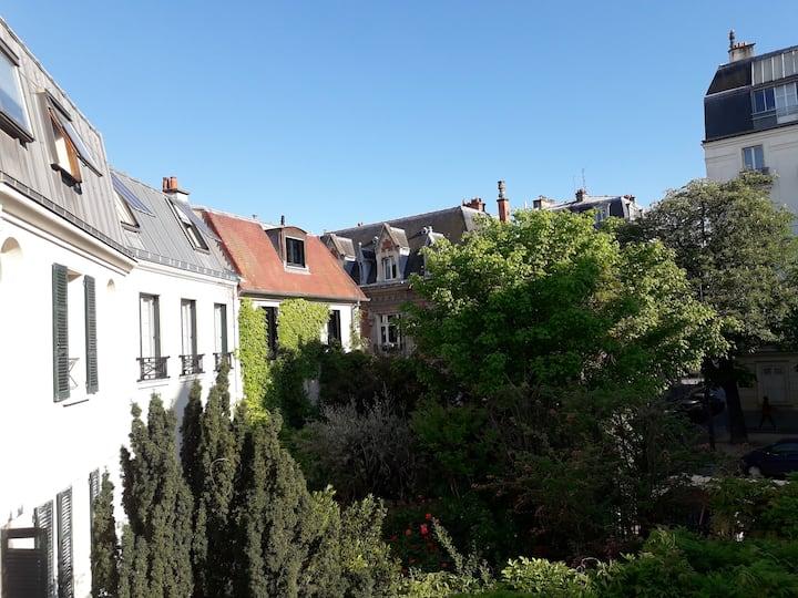 House with garden in Paris 14ème