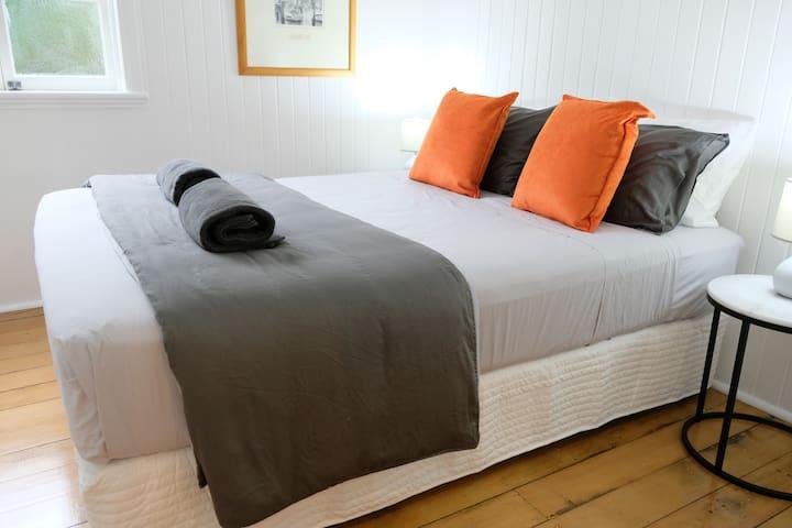 2nd bedroom with bedside charging station