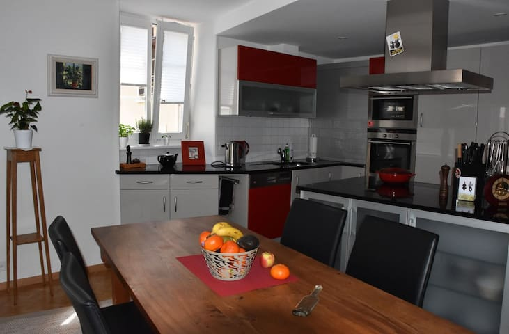 Superb renovated family apt, Medieval Vieux Bourg - Saint-Prex - Lakás