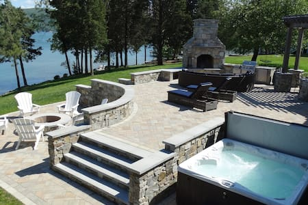 Best Dock and Patio with a Mountain and Lake View!