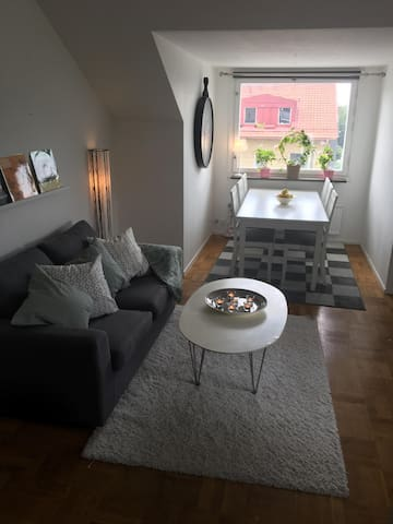 Cozy apartmant close to Stockholmfair and City
