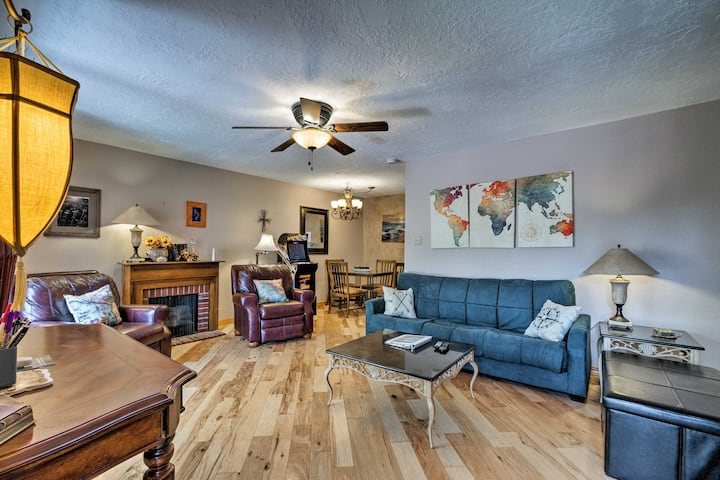 Spacious Ruidoso Condo w/Indoor pool by Ski Apache