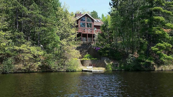 Secluded 4+ Acres Waterfront On Lake Alice