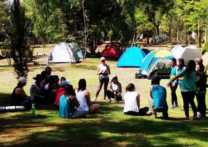 camping experience cochabamba. Bolivia. - Tiquipaya - Barraca