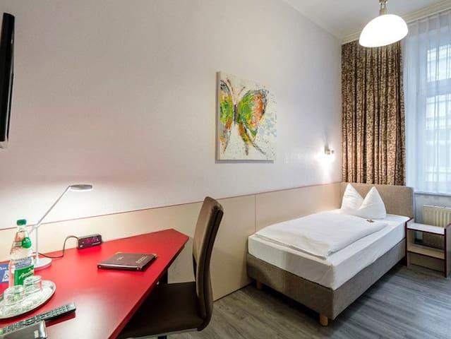 Einzelzimmer im Hotel Stadtkrug