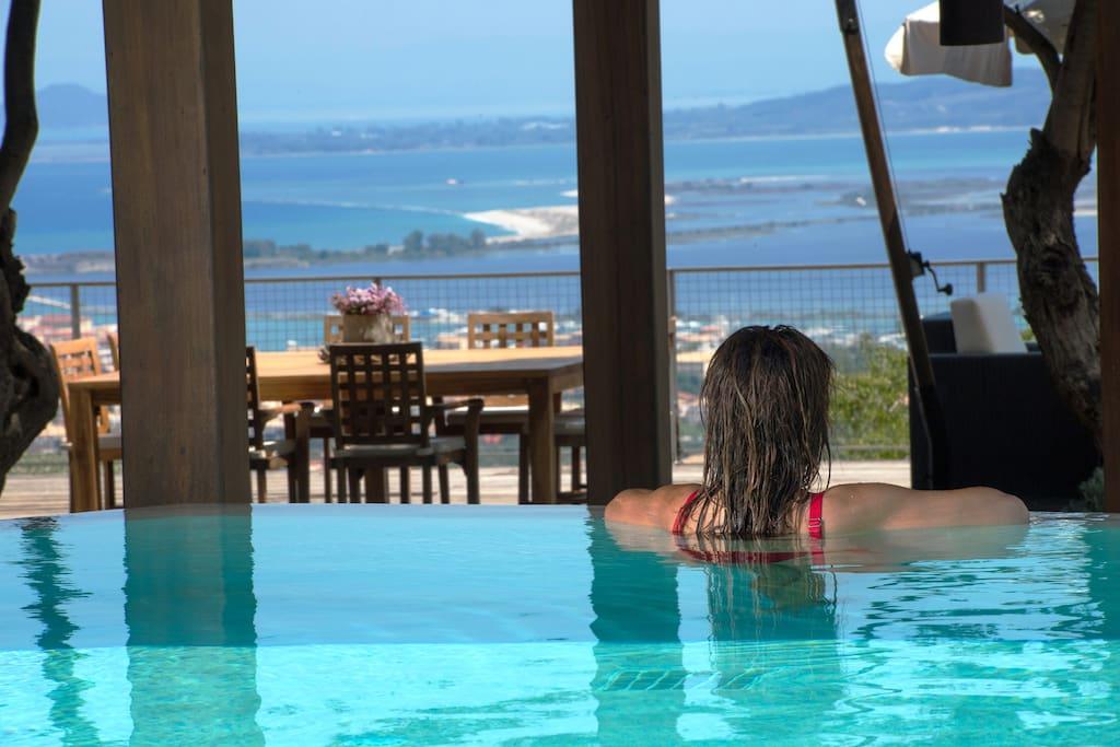 Pool views!