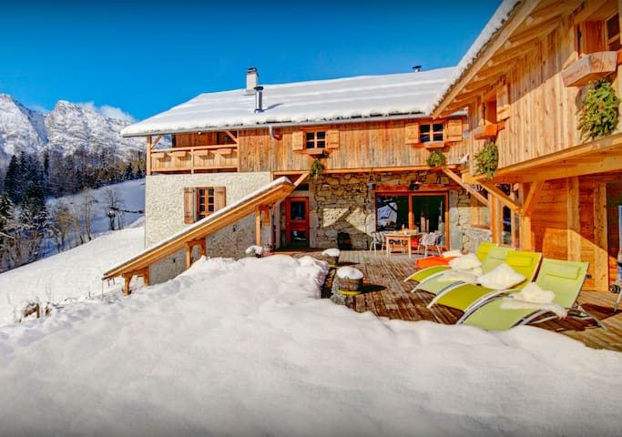 Pool with a view is all yours at this stunning ski chalet - OVO Network