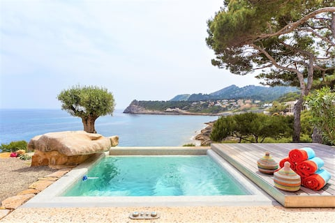 Mallorca property direct access to sea 4/6pax