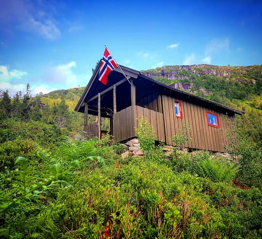 Traditional Mountain cabin in Førde.