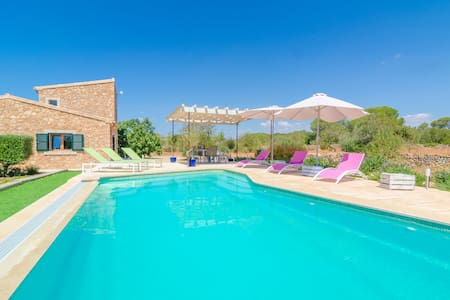 Pleta Morell - stylish house with private pool - Ses Salines - Ev