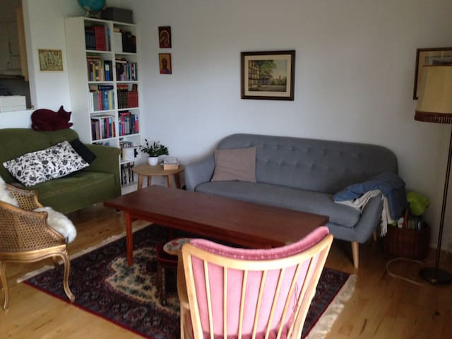 Cosy and big 3-room flat near everything in Aarhus