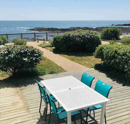 Studio 31m2 RDC 🏖 Océan & plage direct