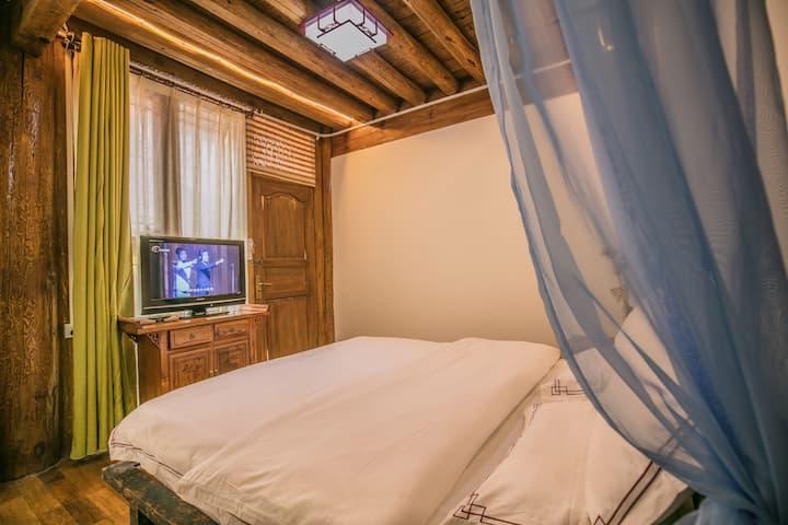 大研/丽江古城景区七一街南门「成十」满天星大床房   近和府洲际英迪格酒店