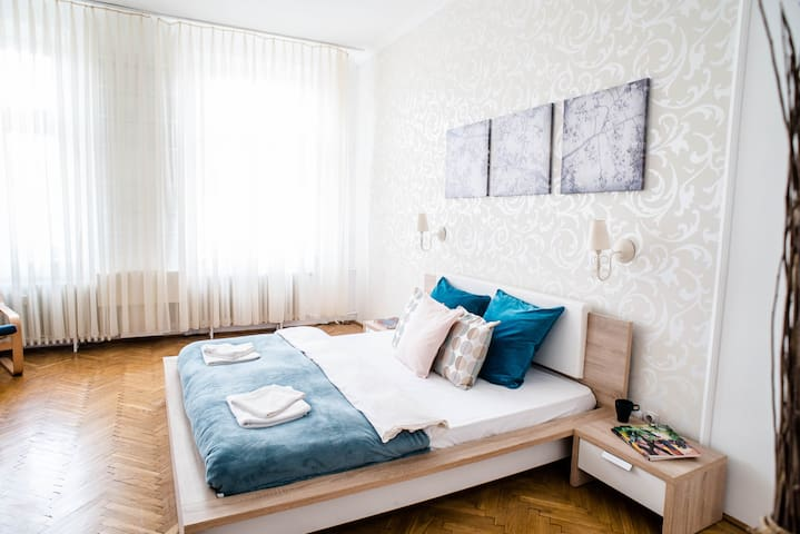 Nicely renewed, central apartment with 4 rooms