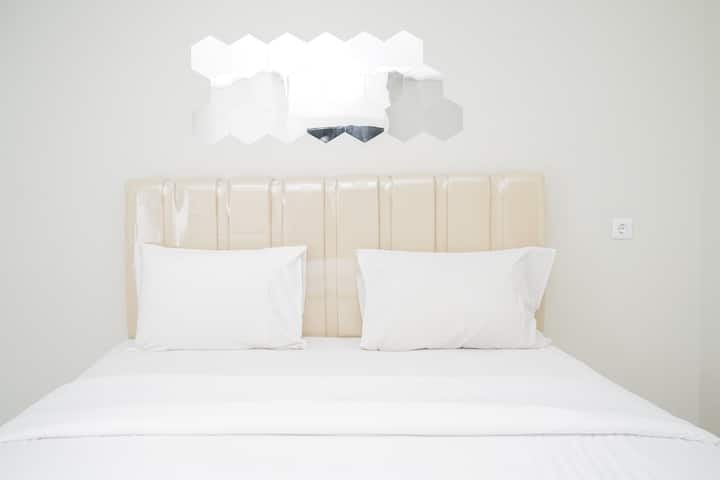 Homey and Minimalist Studio Padina Apartment