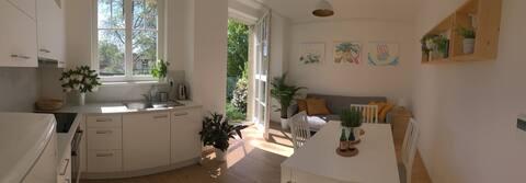 Garden view apartment