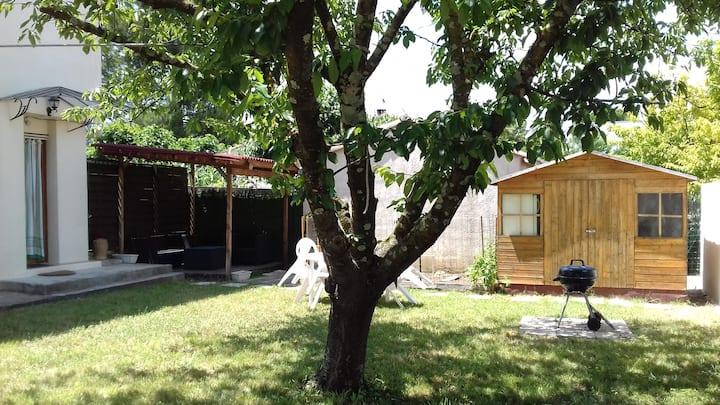 agréable logis avec jardin