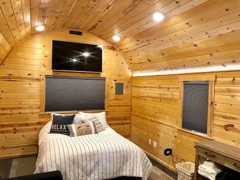 Wakeside Lake Tiny Smart Cabin