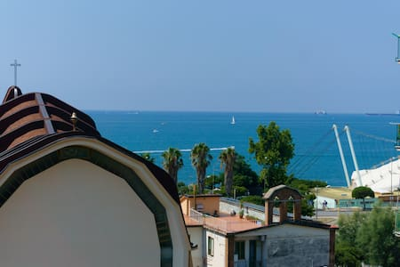 Luxury Apartment with sea view in Salerno center