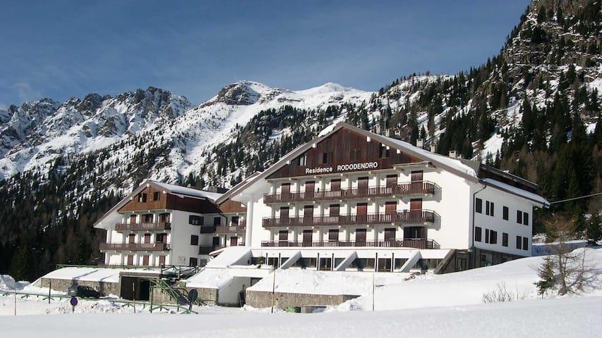 Appartamento con vista, 2000 mt sulle piste da sci