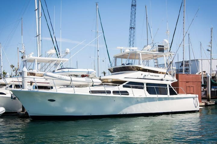 San Diego Luxury Yacht