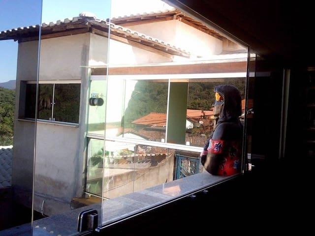 Paisagens da janela! INHOTIM, também fica ali!Q02