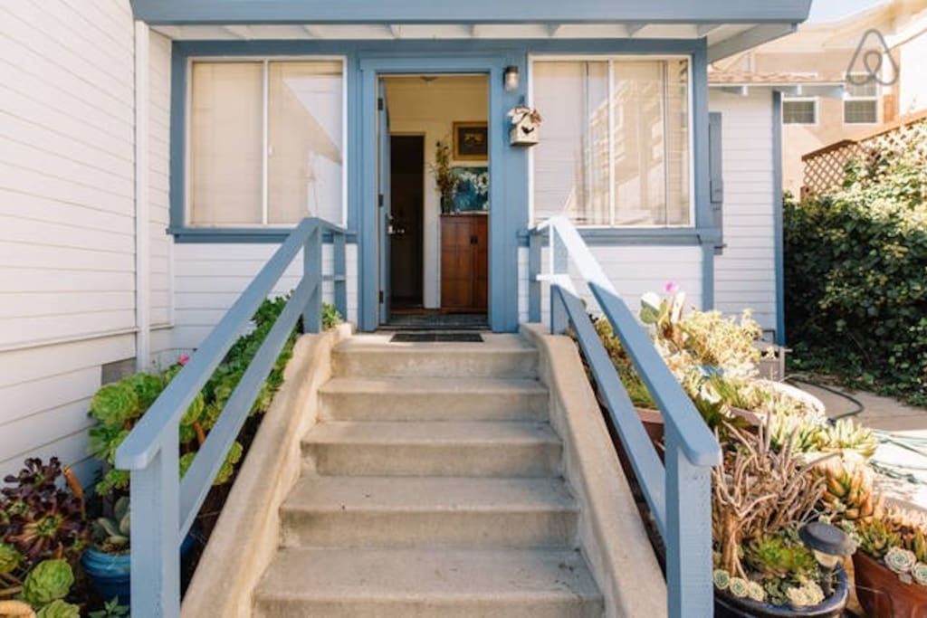 Your Front Door and entry of the sunroom