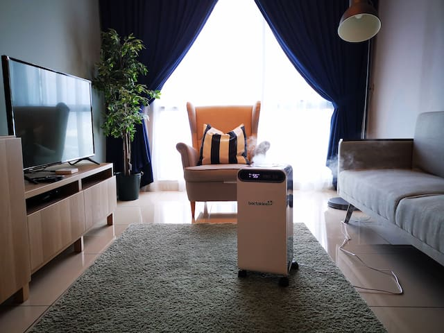 Cozy House + Cleaning for 2-6Pax@Bandar Sunway双威镇