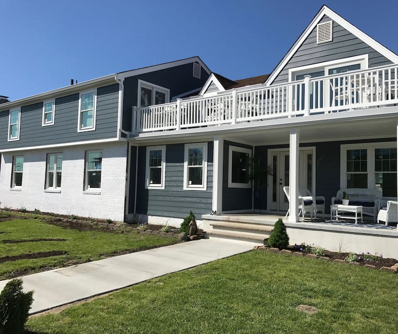 Newly renovated Bayview house